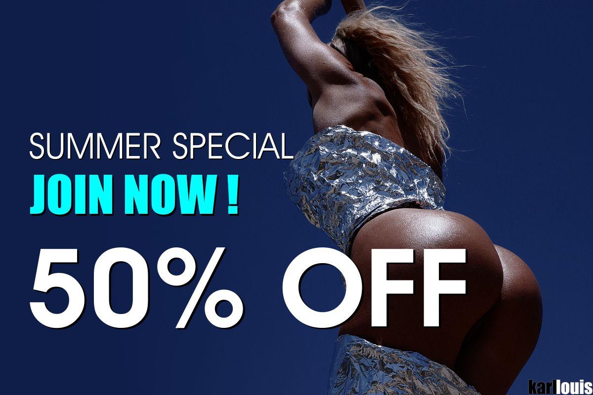 Summer Special 50% OFF
