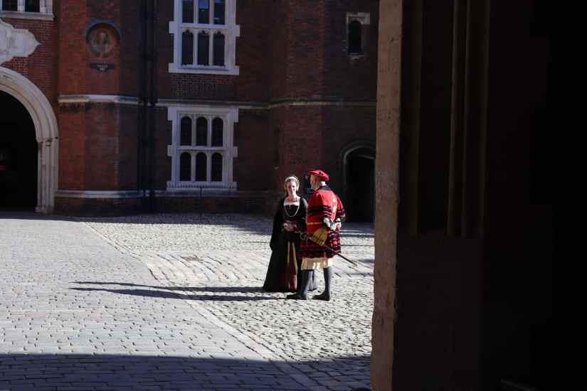 An off duty Anne Boleyn