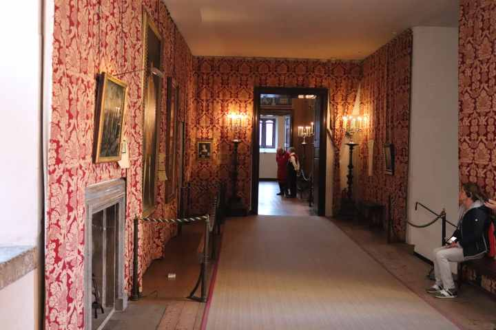 The processional gallery - the site of many historical events at Hampton Court Palace