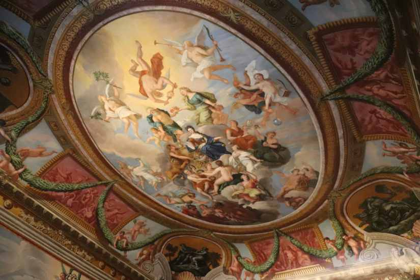 Stuart Frescoes at Hampton Court Palace