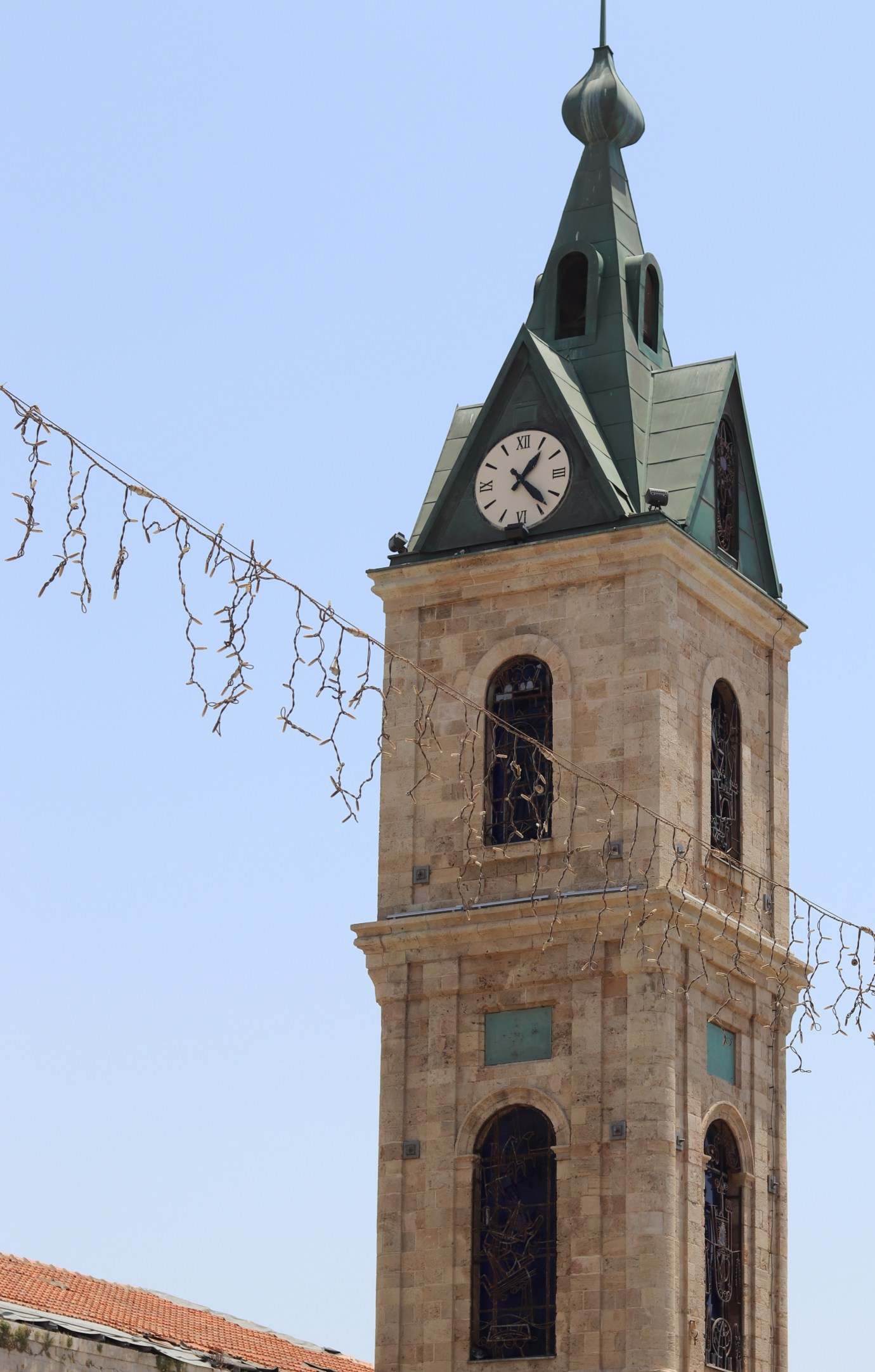 Jaffa Clock Tower - A great starting point for visitors to the market
