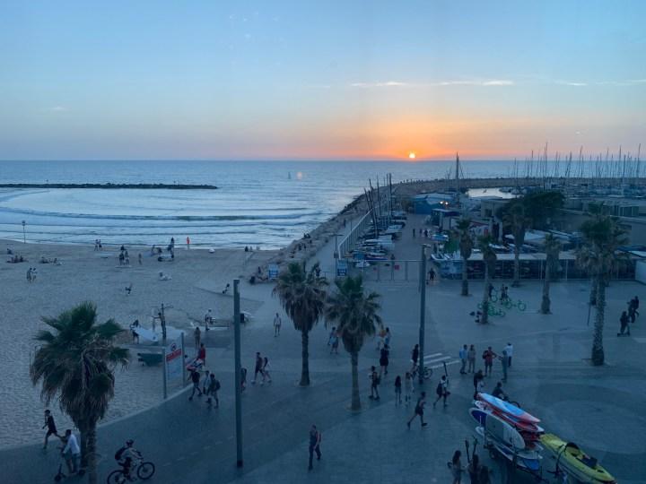 Tel Aviv Marina, north of Gordon Beach