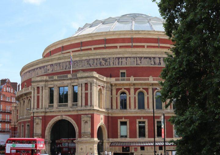 Outside the Royal Albert Hall, Kensington Gore, London
