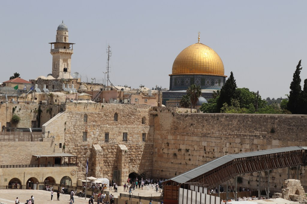 Western Wall Plaza and the Dome of the Rock