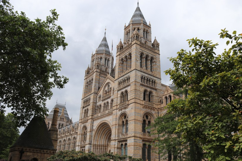 The exterior of the Natural History Museum, one of the biggest attractions in Kensington