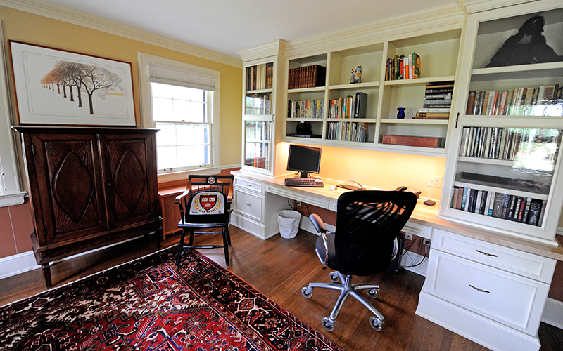 home office remodel | Karlovec & Company, Shaker Heights, Ohio