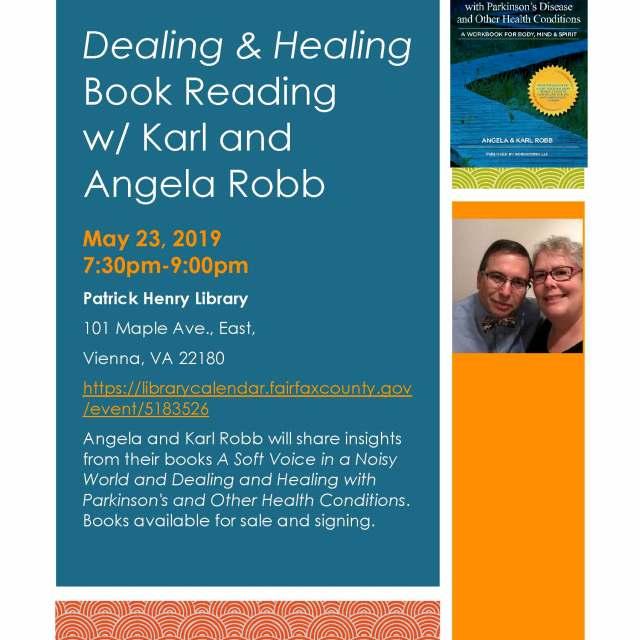 Karl Robb Patrick Henry Library flyer 2019