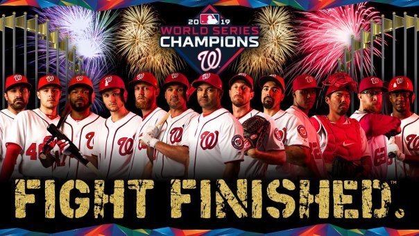 Washington Nationals Fight Finished @Nationals