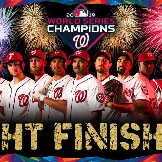 Washington Nationals Fight Finished @Nationals