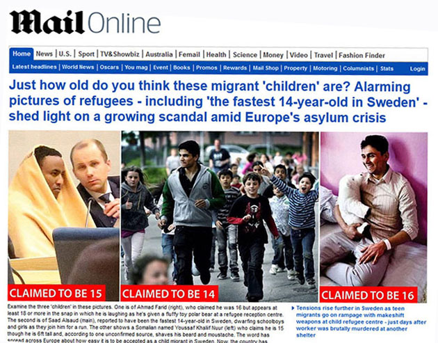 "Image result for fighting age ""children"" refugees"