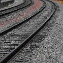 Rail tracks directing users view