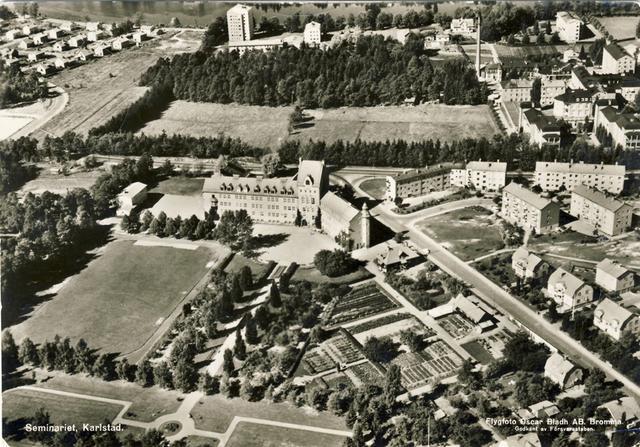 Seminarieparken i sitt ursprungliga skick.