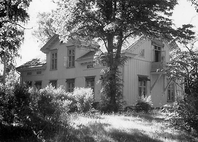 Strands Herrgård före den senaste tillbyggnaden.