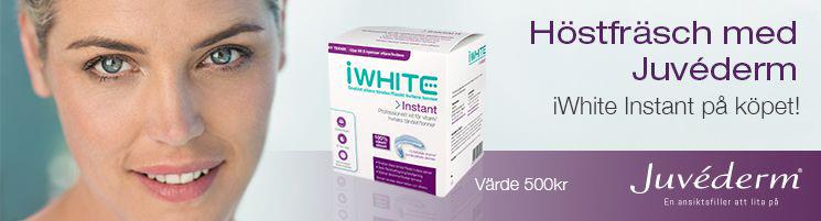 iWhite Instant är en produkt för vitare tänder för hemmabruk.