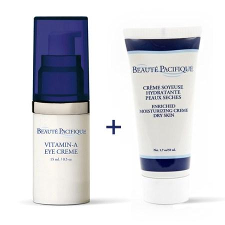 Beaute Pacifique paket för vintertorr hud