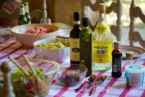 italiensk lunch