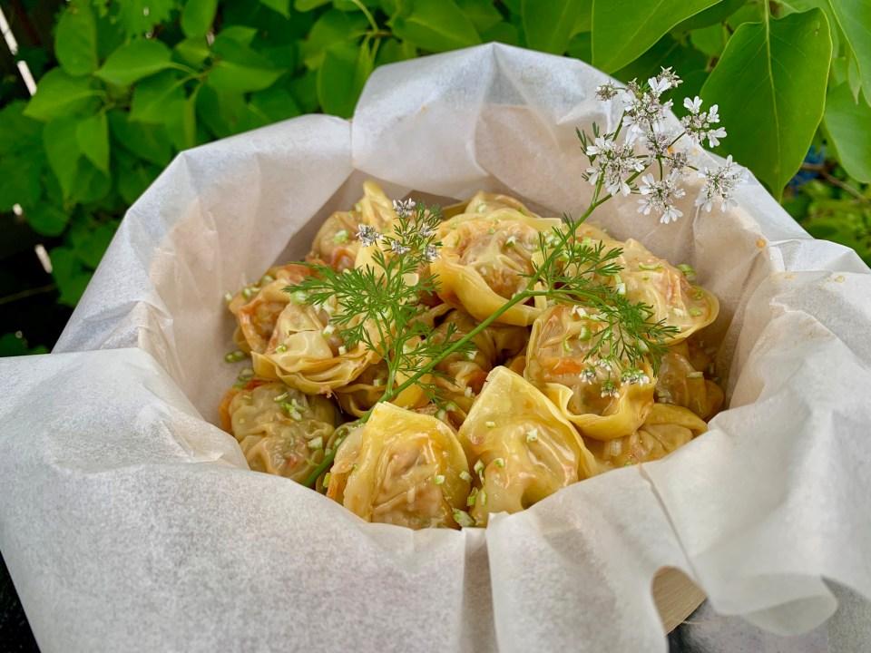 Wontons - fyllda dumplings
