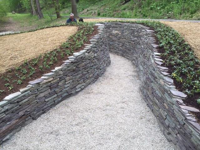 Waterway, by Paul Deery. Karl Stirner Arts Trail, Easton, Pennsylvania. KSAT.