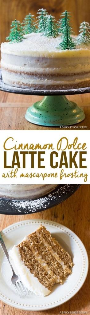 Cinnamon Dolce Latte Cake