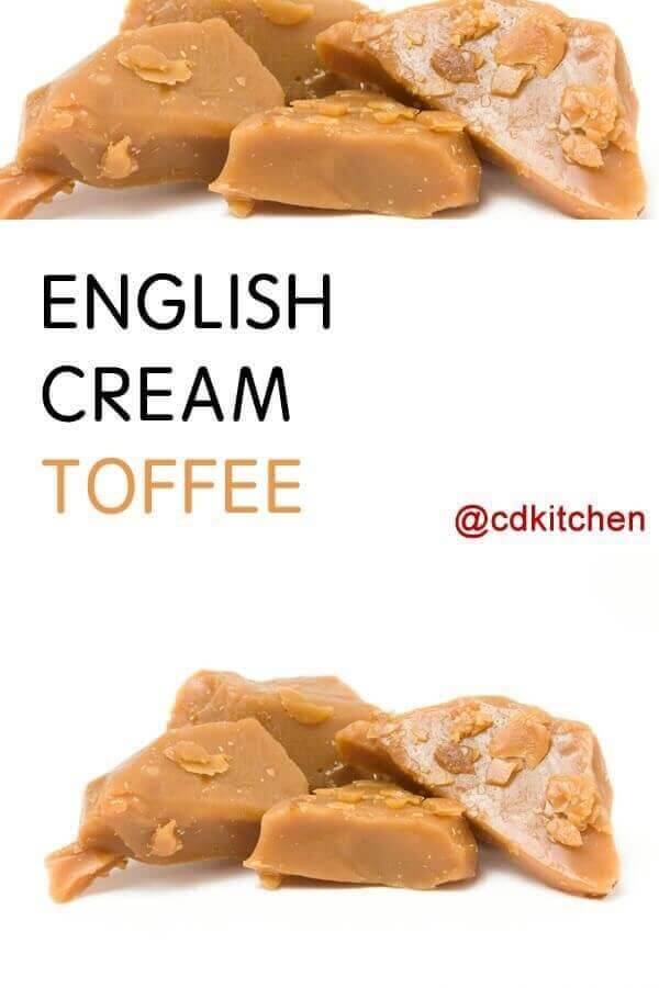 English Cream Toffee
