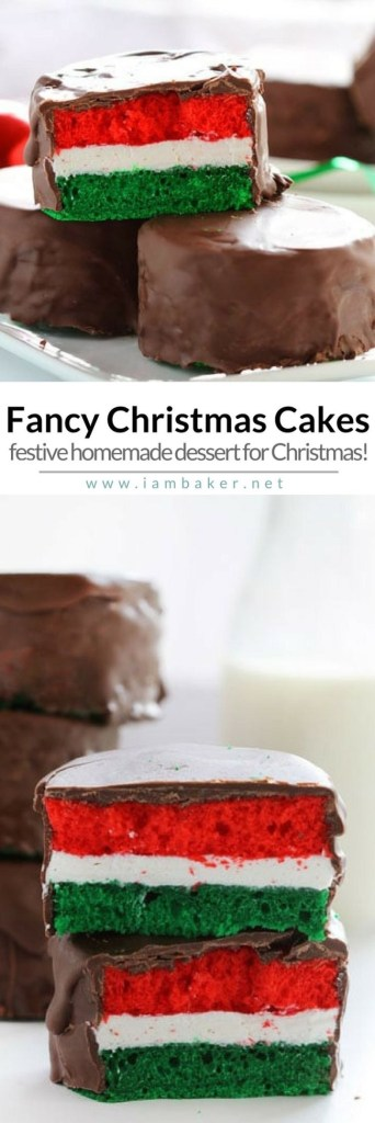 Fancy Christmas Cakes