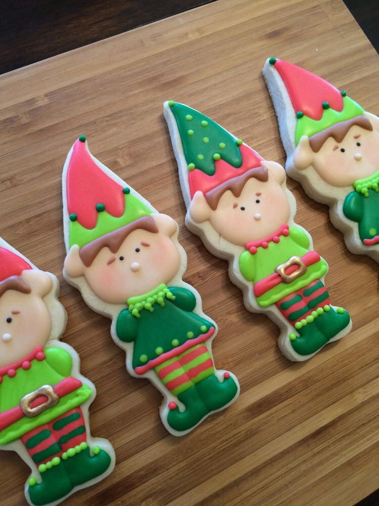 Santa's Elves Cookies