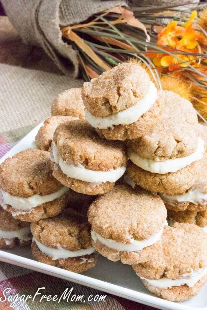 Snickerdoodle Crème Cookies