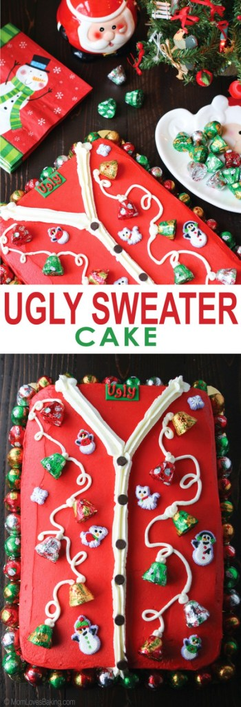 Ugly Sweater Cake