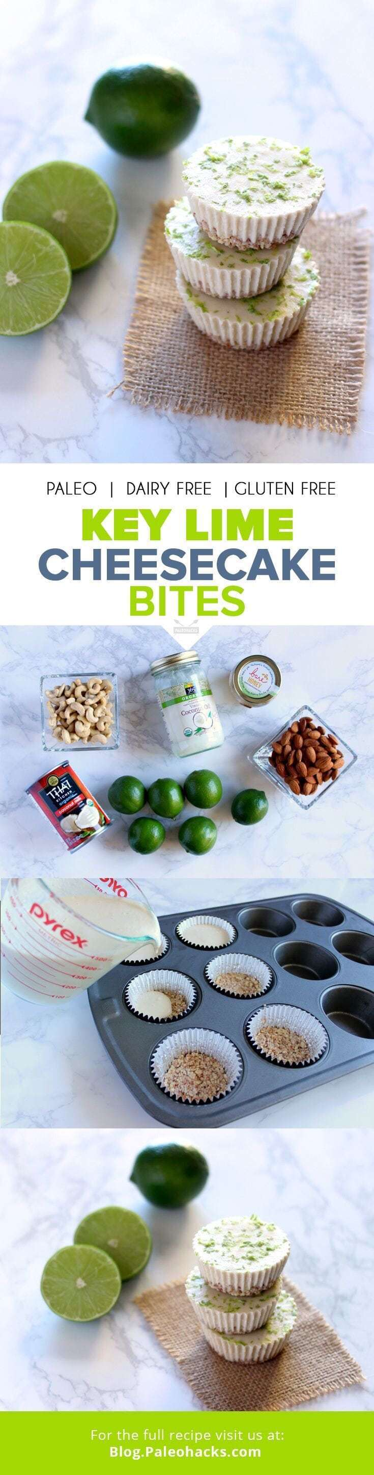 1. Key Lime Cheesecake Bites