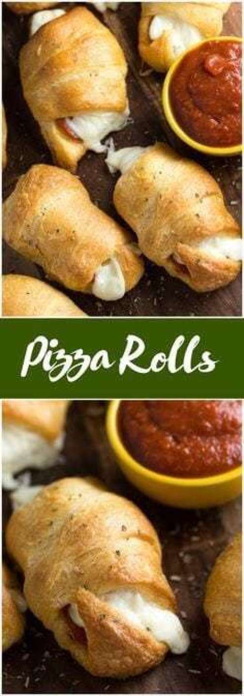 Pizza Rolls - - 20 Best Croissant Sandwich Recipes