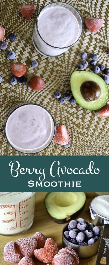 Berry Avocado Smoothie recipe