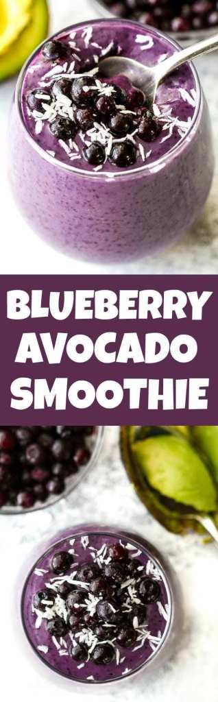 Blueberry Avocado Smoothie Recipe