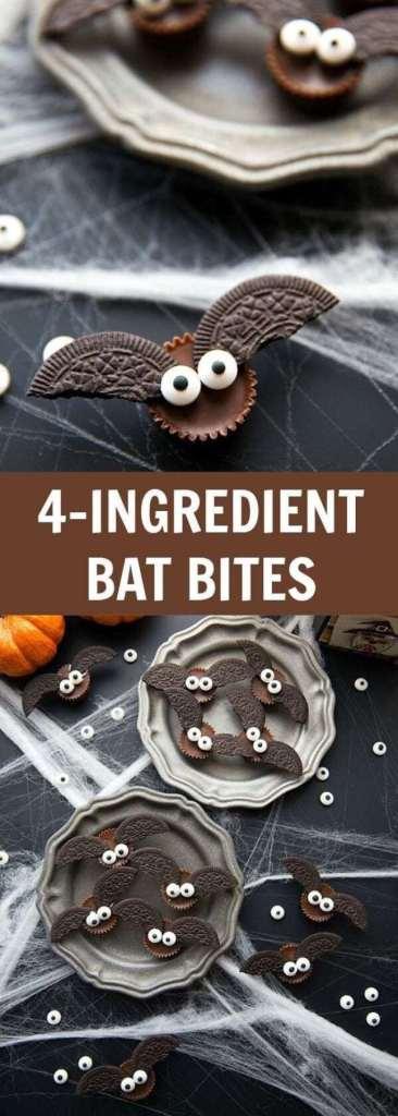 4-Ingredient Bat Bites