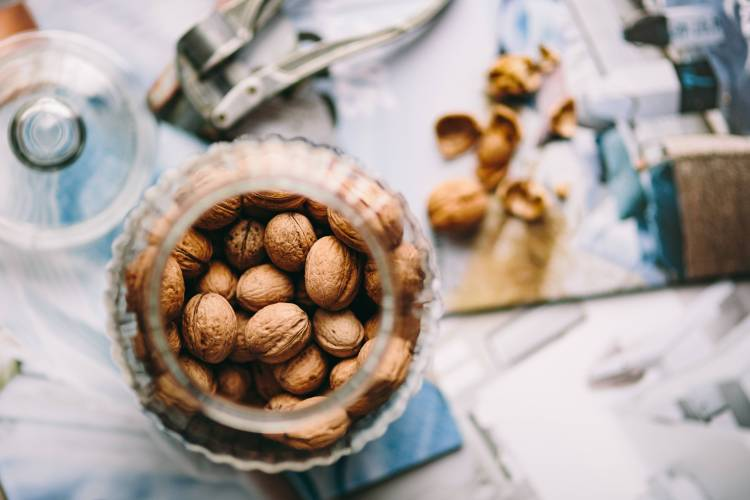 Nuts to help you with the stress