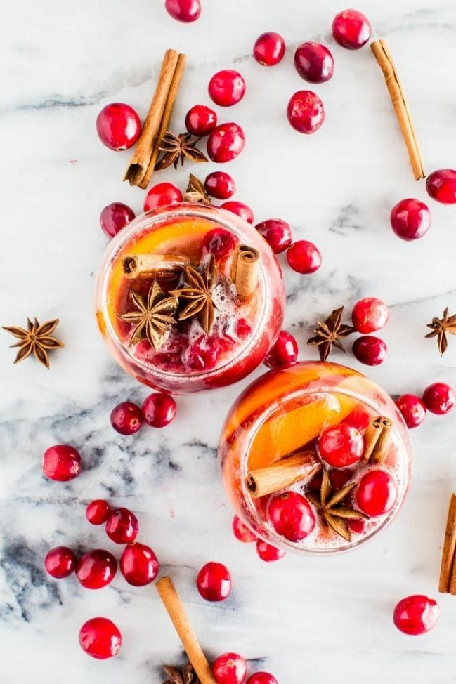 Non-Alcoholic Winter Sangria