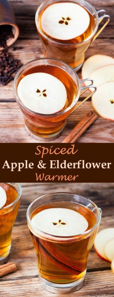 Spiced Apple & Elderflower Warmer
