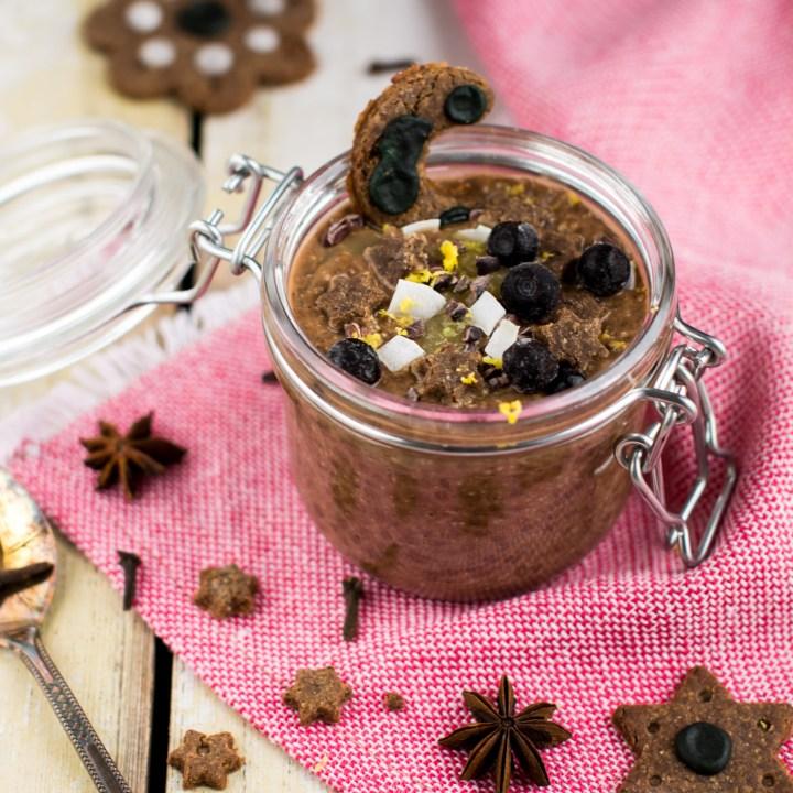 Chocolaty Chia Pudding