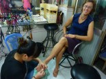Besides eating Pho, the next important stereotypic activity I did in Vietnam was to get a pedicure.