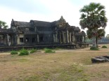 Angkor Wat... I arrived before 8am to beat the heat and get a few pics before the hoards of tours showed up.