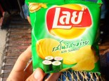 Funny thai versions of familiar junk food. Didn't actually try these so I can't tell how delicious they were.