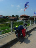 Quick bridge pic on the way to Ayutthaya