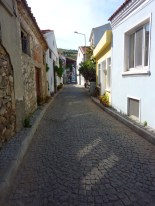Tiny cobblestone streets... almost entirely to myself.