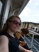 On the ferry across the Bosphorus to the Asian side...