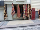 Walking around Sultanahmet... Carpet shop