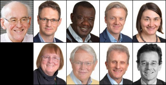 The Board and Investment Committee of AgDevCo, which is funded by UK Aid to invest in agribusinesses in Africa: Keith Palmer, Daniel Hulls, Valentine Chitalu, Chris Isaac, Anna Rebollini, Frances Reid, Nick Rouse, Geoff Tyler, Michael Turner