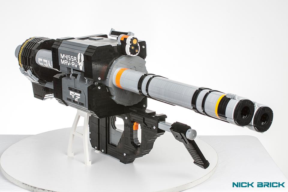 Ракетница M41 SPNKR из конструктора LEGO