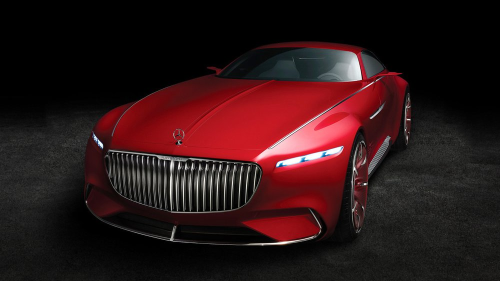Концепткар Mercedes-Maybach 6