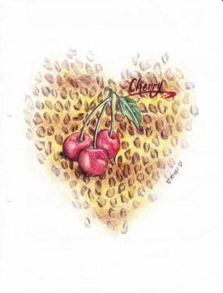 Karmaela Cherry illustration