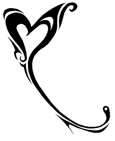 Karmaela Designs: Heart Logographics