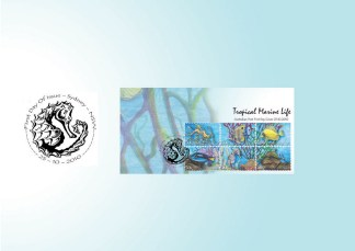 Karmaela Tropical Stamps First Day Pack